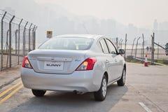 Het Model van Nissan Sunny 2013 Stock Foto's