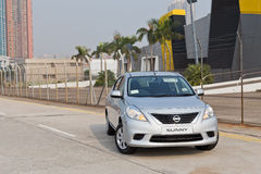 Het Model van Nissan Sunny 2013 Royalty-vrije Stock Fotografie
