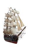 Het model van Sailship Royalty-vrije Stock Afbeelding