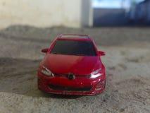 Het model van Volkswagen Golf Mk5 2016 stock foto