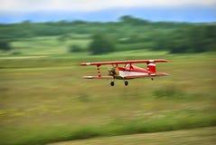 Het model vliegen van vliegtuigen Royalty-vrije Stock Afbeeldingen