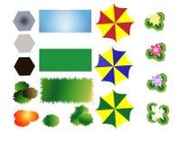 Het modelleren van pictogrammen 2 Stock Afbeeldingen
