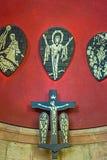 Het moderne altaar Stock Foto