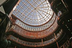 Het moderne Atrium van de Bouw Stock Foto's