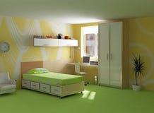 Het moderne binnenland van Childroom Stock Foto