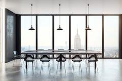 Het moderne binnenland van de conferentieruimte Stock Foto