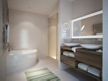 Het Moderne Binnenland van de woonkamer Royalty-vrije Stock Foto