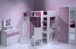 Het moderne binnenlandse ontwerp van de kindruimte. Royalty-vrije Stock Afbeelding