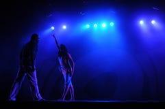 Het moderne dansen Stock Afbeelding