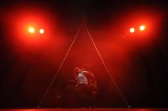 Het moderne dansen Royalty-vrije Stock Afbeelding