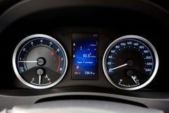 Het moderne dashboard van de stijlauto Royalty-vrije Stock Afbeelding