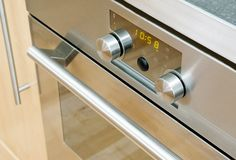 Het moderne Detail van de Oven stock afbeeldingen