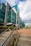 Het moderne district van het Bureau royalty-vrije stock fotografie