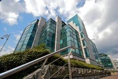 Het moderne district van het Bureau Stock Afbeelding