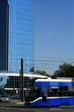 Het moderne financiële centrum van Polen - van Krakau Stock Foto's
