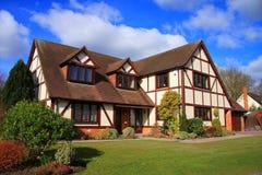 Het moderne Huis van de Familie Royalty-vrije Stock Fotografie
