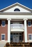 Het moderne Huis van het Hof Stock Afbeelding