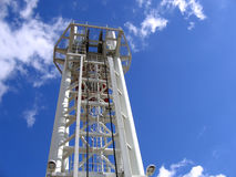 Het moderne Mechanisme van de Lift van de Ophaalbrug Stock Foto