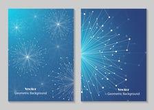 Het moderne ontwerp van de brochuredekking royalty-vrije illustratie