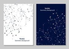 Het moderne ontwerp van de brochuredekking Stock Fotografie