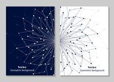 Het moderne ontwerp van de brochuredekking Stock Afbeelding