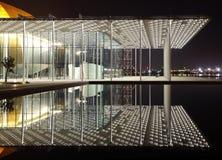 Het moderne ontworpen Nationale Theater van Bahrein met 1001 zetels Stock Fotografie