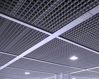 Het moderne Patroon van het Plafond van het Bureau stock fotografie