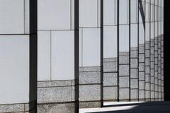 Het moderne Patroon van Kolommen Stock Fotografie
