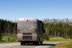 Het moderne recreatieve voertuig van rv Royalty-vrije Stock Afbeeldingen