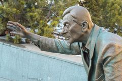 Het moderne standbeeld van de kunststad Stock Foto