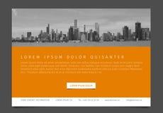 Het moderne van het de vliegerontwerp van het brochuremalplaatje vectormalplaatje Royalty-vrije Stock Afbeelding