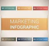 Het moderne zachte malplaatje/infographics van het kleurenOntwerp Stock Afbeelding