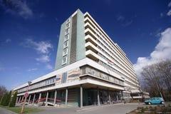 Het moderne ziekenhuis royalty-vrije stock foto