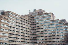 Het moderne ziekenhuis of woningbouw Stock Fotografie
