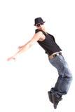 Het modieuze dansen Stock Afbeeldingen