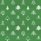 Het modieuze patroon van de Kerstmisboom royalty-vrije stock foto's