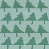 Het modieuze patroon van de Kerstmisboom stock fotografie