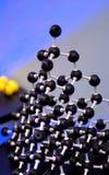 Het moleculaire Structuur en Plakken stock foto's