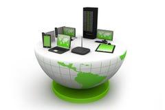 Het mondiale Net van de Computer Royalty-vrije Stock Fotografie