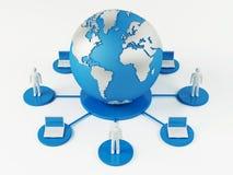 Mondiaal Net Stock Foto
