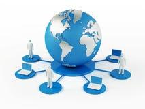Mondiaal Net Royalty-vrije Stock Afbeeldingen