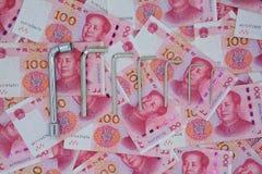Het monetaire hulpmiddel van de beleidsmanipulatie Royalty-vrije Stock Foto's