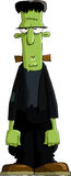 Het monster van Frankenstein royalty-vrije illustratie