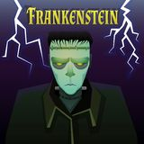 Het monster van Frankenstein stock illustratie