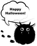 Het monster van Halloween Stock Afbeelding