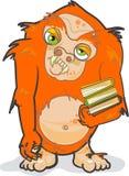 Het Monster van het boek Royalty-vrije Stock Foto's