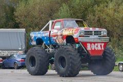Het monster - Vrachtwagen - toont Royalty-vrije Stock Foto's