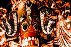 Het monstergezicht van Sri Lanka Stock Afbeeldingen
