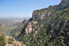 Het Montserrat klooster Stock Afbeelding