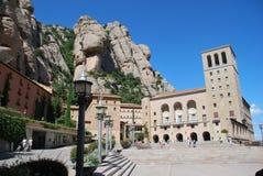 Het Montserrat klooster Royalty-vrije Stock Foto